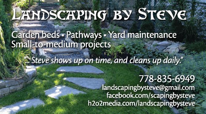 Landscaping by Steve – Bowen Island